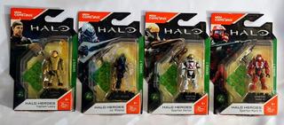 Mega Construx Halo Lasky, Vector, Jul Mdama Y Mark V Nuevos