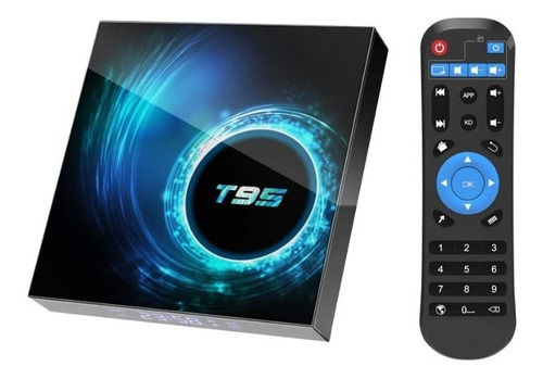 Tv Box Android 10.0 T95 Android Tv 2gb Ram 16gb Rom Wifi