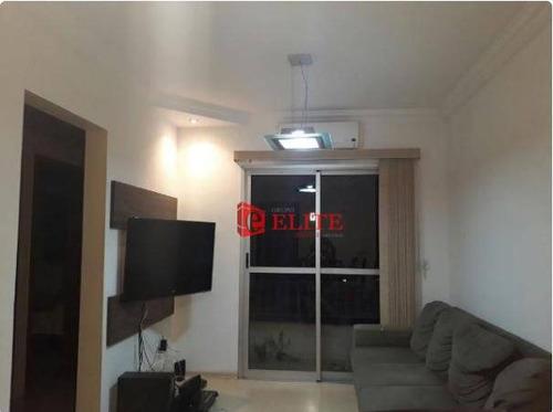 Apartamento Com 3 Dormitórios À Venda, 70 M² Por R$ 318.000,00 - Vila Industrial - São José Dos Campos/sp - Ap3653