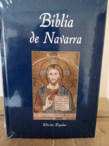 Imagen 1 de 4 de Libro Biblia De Navarra