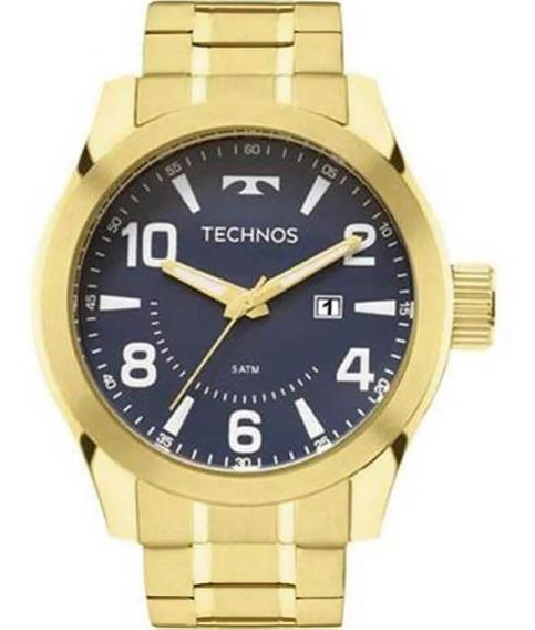 Relógio Masculino Technos Analógico 2115mgq/4a Dourado