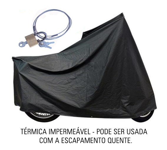 Capa Térmica Moto C/ Cadeado Sundown Vblade   Ctm4c