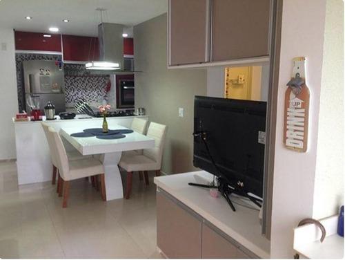 Imagem 1 de 18 de Apartamento Residencial À Venda, Condomínio Idealle Cambuci - Impecável - Ap4730
