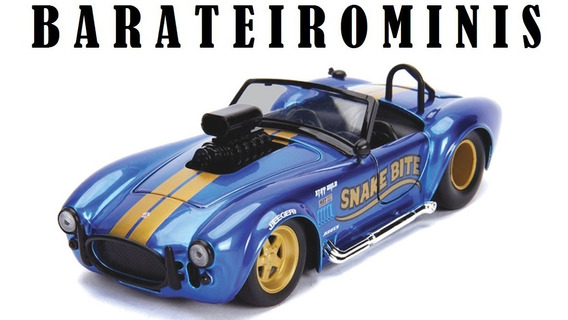 1:24 Shelby Cobra 65 427 Bigtime Muscle Jada Barateirominis