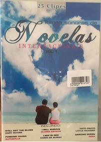 Dvd Trilhas Sonoras De Novelas Internacionais 01 - 25 Clipes