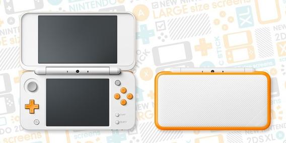 New Nintendo 2ds Xl + 32gb Com Muitos Jogos