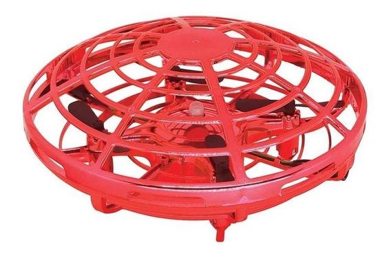 Drone Ufo Com Carregador Usb - Vermelho - Candide - 1104