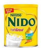 Leche Nido Clasica Lata 360gr Para Bebe Niño Y Niña (1pz)