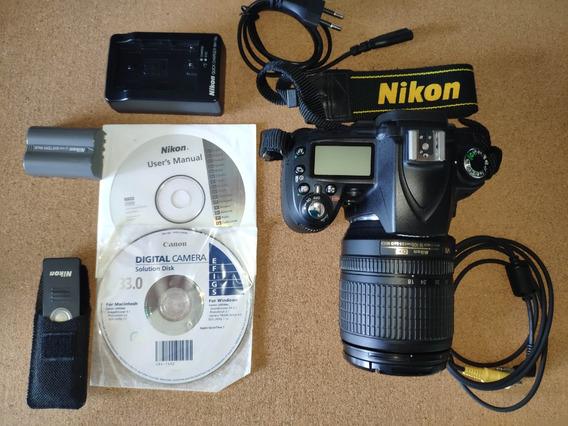 Câmera Nikon D90 Em Estado De Nova!!!