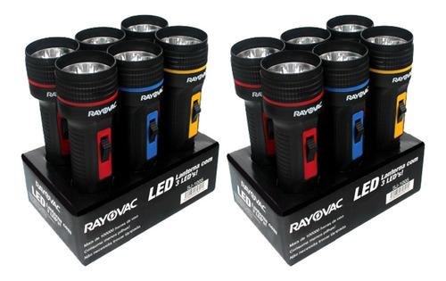 Imagem 1 de 6 de 12 Lanternas Interiores Tri Led Em 2 Embalagem Com 6 Rayovac