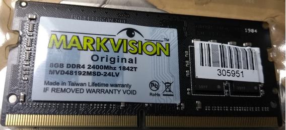 Memoria Markvision 8 Gb Ddr4 Pc4 2400 Original Com Garantia