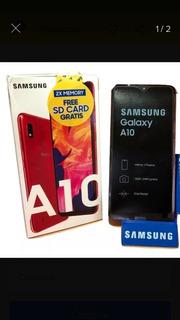 Samsung A10 De 32gb Nuevo En 145 Verdes