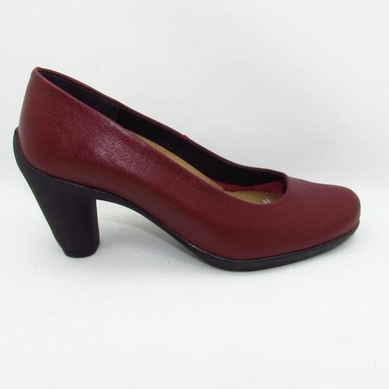 Zapato Julio De Mucha 34403 Piel Luxory 14-16 Escarlata