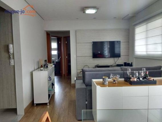 Lindo Apartamento 2 Dormitórios, 2 Vagas E Sacada No Jardim São Dimas - Ap7430