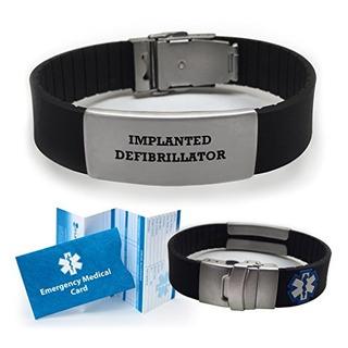 Implante Defibrillator Medical Alert Id Pulser