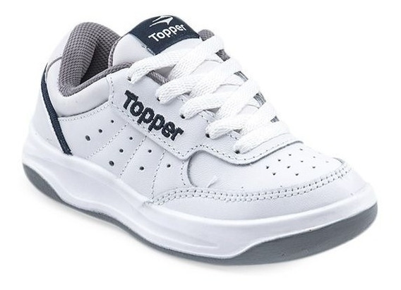 Zapatillas Topper X Forcer Infantil Niños Kids Cordones