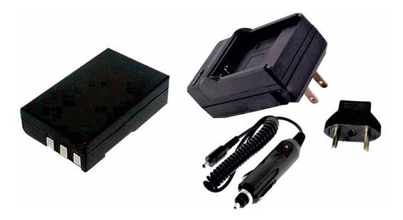 Kit Bateria En-el9 + Carregador P Nikon D40 D60 D3000 D5000