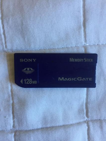 Cartão De Memória Memory Stick Magicgate Sony 128mb