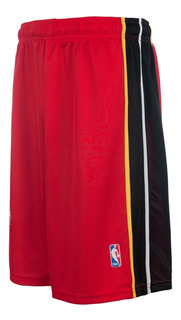 Short Basquet Miami Heat Lic Oficial Nba Basket Adulto Niño