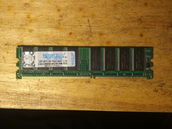 Memoria Ram 1gb Novatech Ddr400 Long Dimm
