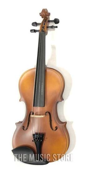 Violin Yirelly Cv 101 4/4 Mate Con Estuche Arco Y Resina