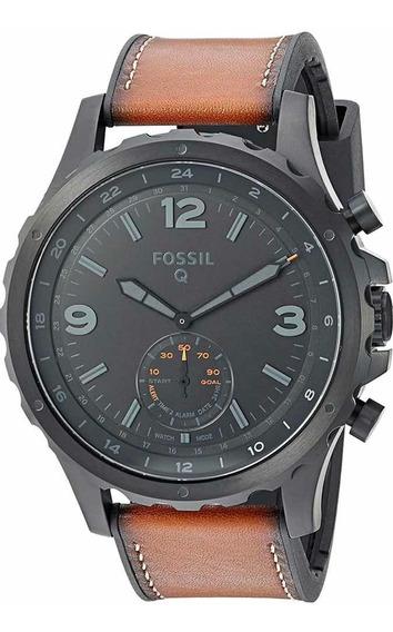 Fossil Nate - Reloj Inteligente Híbrido Hombre (acero Inoxi)