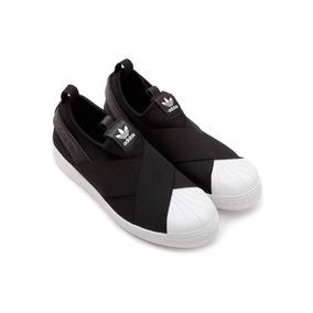 Tênis adidas Slip On Elastico Feminino - Frete Grátis! Só Hj