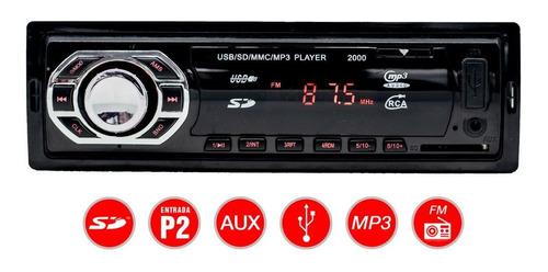 Mp3 Player Rádio Carro Usb Sd Aux Rádio Fm Barato Promoção
