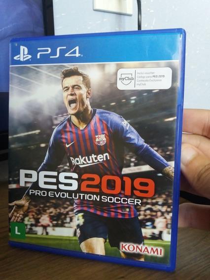 Pro Evolution Soccer 2019 Ps4 Mídia Física