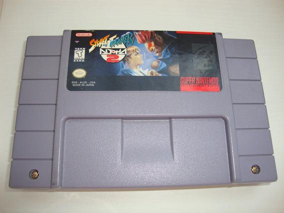 Street Fighter Alpha 2 Original Americano + Ugc Para Snes