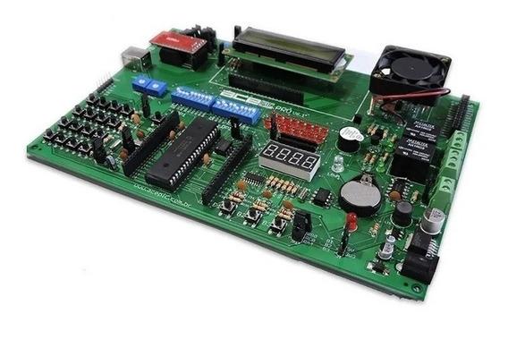 Kit Didático Para Microcontroladores Pic (18f4520)