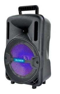 Parlante Portatil Aliv 8001 2200w 8pulgadas + Microfono