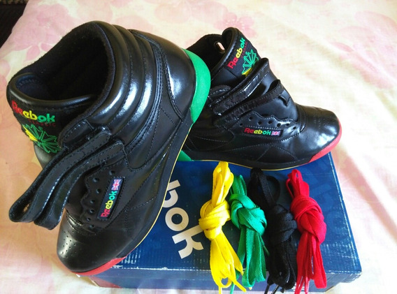 Zapatos Botas Reebok Frosty Treats Rasta Originales Talla 35