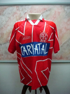 Camisa Futebol America Natal Rn Kronos Jogo Antiga 1982