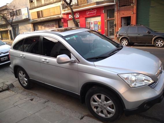 Honda Cr-v 2.4 Ex Mt 4wd 2009 U-n-i-c-a Permuto
