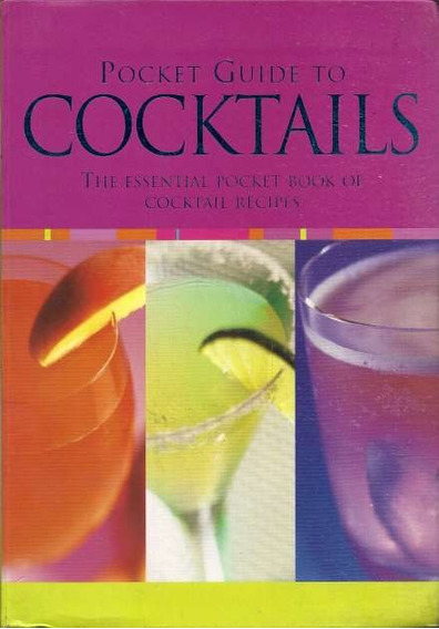 Livro Pocket Guide To Cocktails