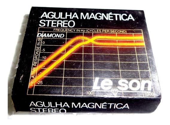 Agulha Para Toca Disco Le Son Gp 400 Nova Diamante Frete15,0