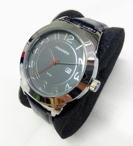 Relógio Masc. Mondaine 99018g0mvnh Pulseira De Couro Vltrine