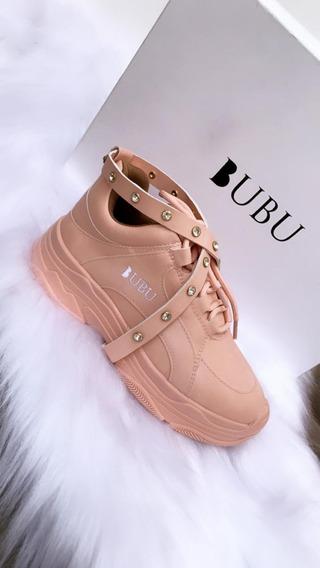 Tênis Bubu Strass Rosa Numeração 34 - 36 - 37