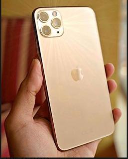 Apple iPhone Pro 11 Max Dourado 512gb Sem Detalhes