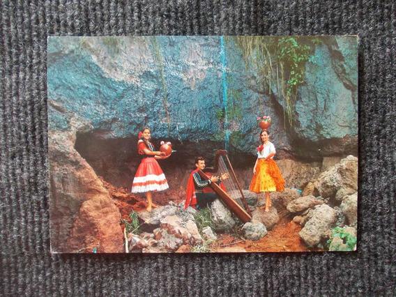 1138- Postal Paraguay 1971 Conjunto Folk. Reina Menchaca