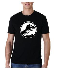 Camiseta Estampada Jurassik Park