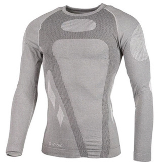 Camiseta Termica Primera Piel Hitec Respirable Herman Grey