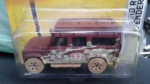 Miniatura Land Rover Defender Matchbox 1:64 Novo !!!