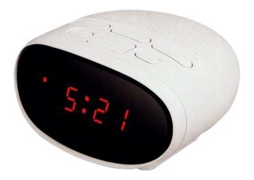 Radio Reloj Despertador Rca Am/fm 0.6 PuLG Rc2015 Snooze