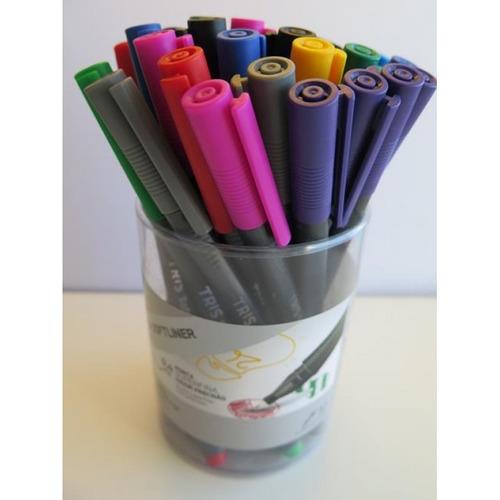 Marcador Liner 0.4 Colores Surtidos, Box X 36