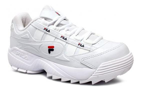 Tenis Fila Unico 51u386x Branco
