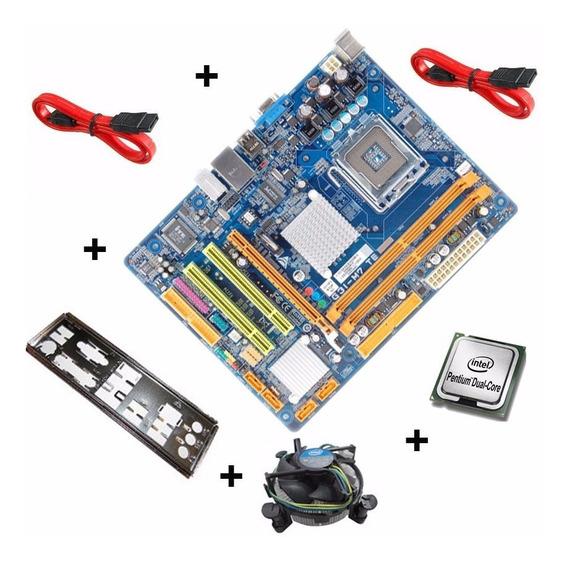 Kit Placa Mae G31-m7 Ddr2 + Dual Core + Sata Brinde