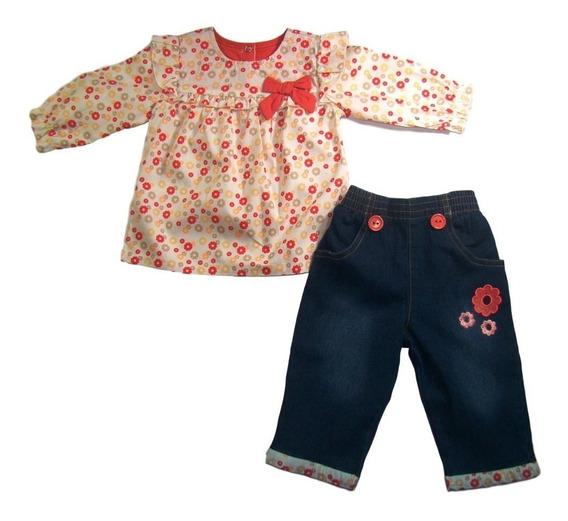 Kit 4 Conjunto Infantil Menina Fischer Price, Atacado
