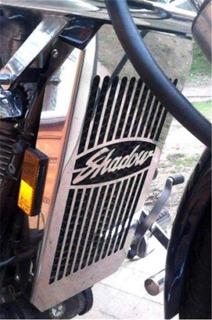 Honda Cubierta De Radiador Para Shadow Y Spirit 750